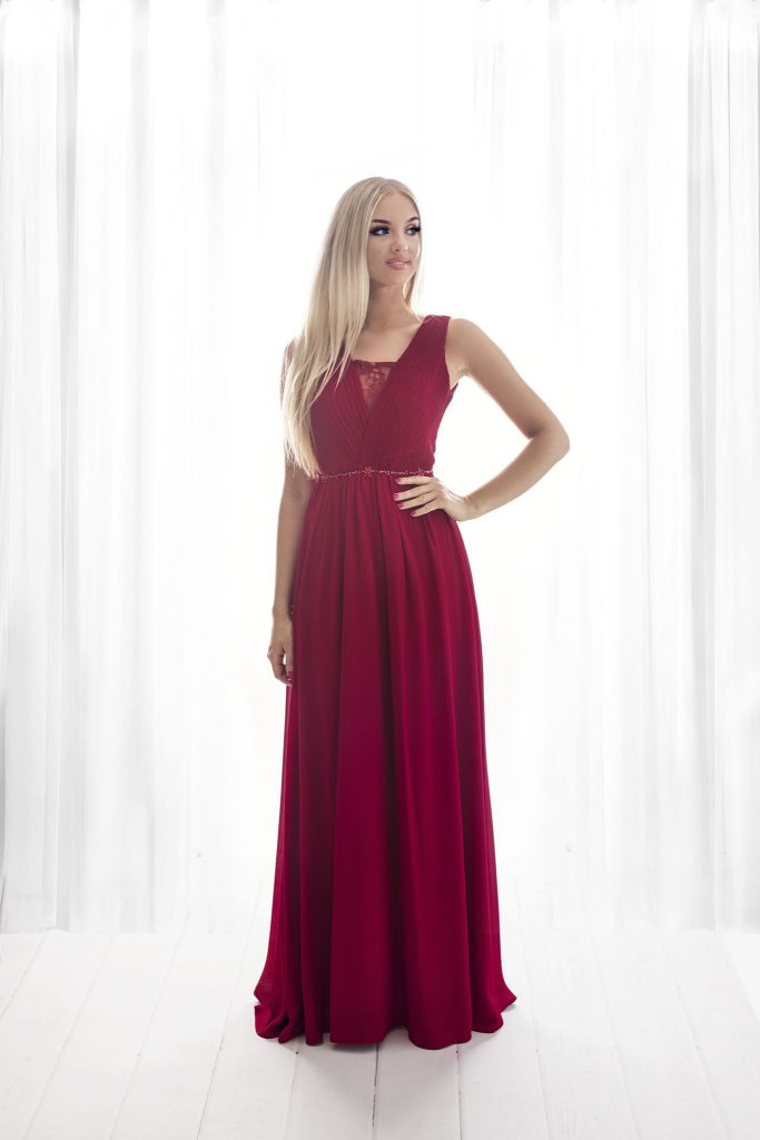 burgundy bridesmaid dress, long bridesmaid dress