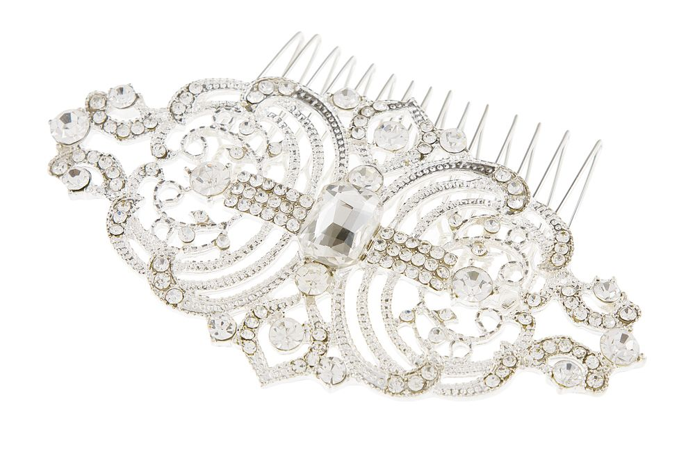 Sophia Crystal Bridal Hair Comb,  Wedding Comb